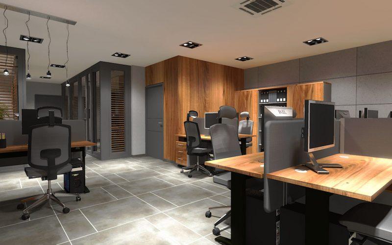 projektant-wnętrz-Lublin-wnętrza komercyjne-Biocent-biurowiec-siedziba-firmy-13