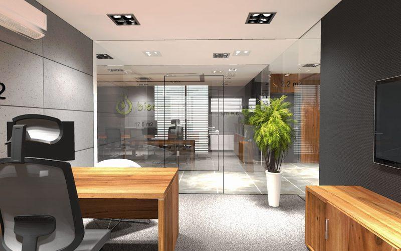 projektant-wnętrz-Lublin-wnętrza komercyjne-Biocent-biurowiec-siedziba-firmy-19