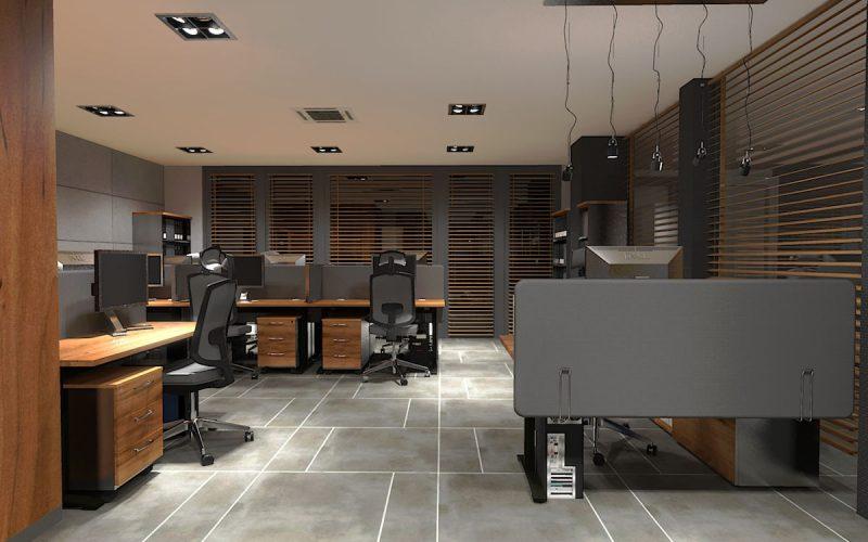 projektant-wnętrz-Lublin-wnętrza komercyjne-Biocent-biurowiec-siedziba-firmy-9