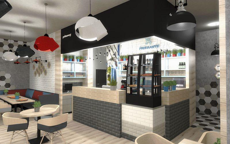 projektant-wnętrz-Lublin-wnętrza-komercyjne-Frizzante-restauracja-bistro-wersja-rodzinna-2