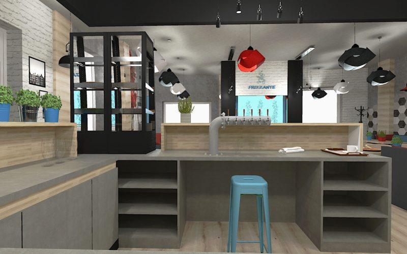 projektant-wnętrz-Lublin-wnętrza-komercyjne-Frizzante-restauracja-bistro-wersja-rodzinna-7