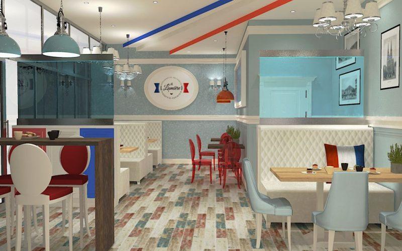 projektant-wnętrz-Lublin-wnętrza komercyjne-La-Lumiere-piekarnia-francuska-Lazurowe-wybrzeże-13