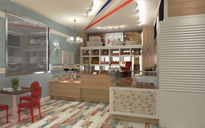 projektant-wnętrz-Lublin-wnętrza komercyjne-La-Lumiere-piekarnia-francuska-Lazurowe-wybrzeże-4