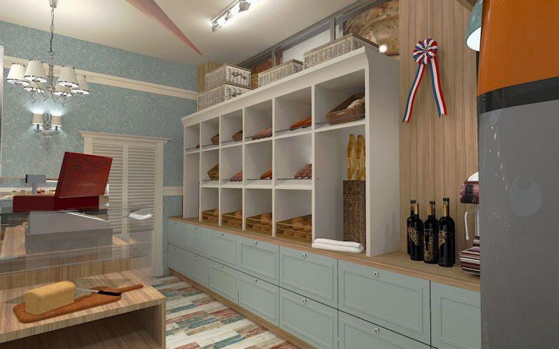 projektant-wnętrz-Lublin-wnętrza komercyjne-La-Lumiere-piekarnia-francuska-Lazurowe-wybrzeże-5