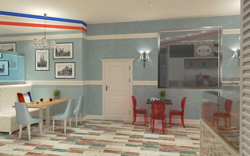 projektant-wnętrz-Lublin-wnętrza komercyjne-La-Lumiere-piekarnia-francuska-Lazurowe-wybrzeże-6