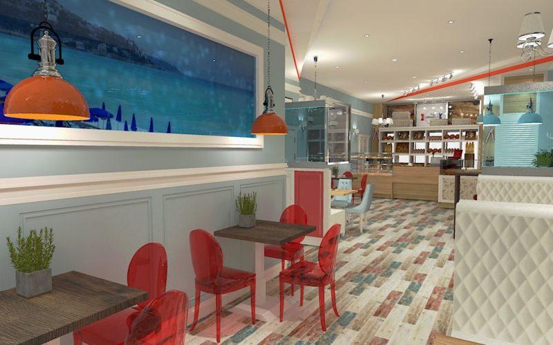 projektant-wnętrz-Lublin-wnętrza komercyjne-La-Lumiere-piekarnia-francuska-Lazurowe-wybrzeże-7