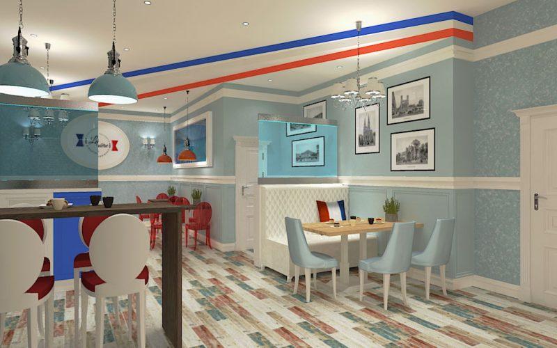 projektant-wnętrz-Lublin-wnętrza komercyjne-La-Lumiere-piekarnia-francuska-Lazurowe-wybrzeże-8
