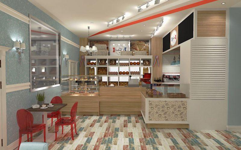projektant-wnętrz-Lublin-wnętrza komercyjne-La-Lumiere-piekarnia-francuska-Lazurowe-wybrzeże-9
