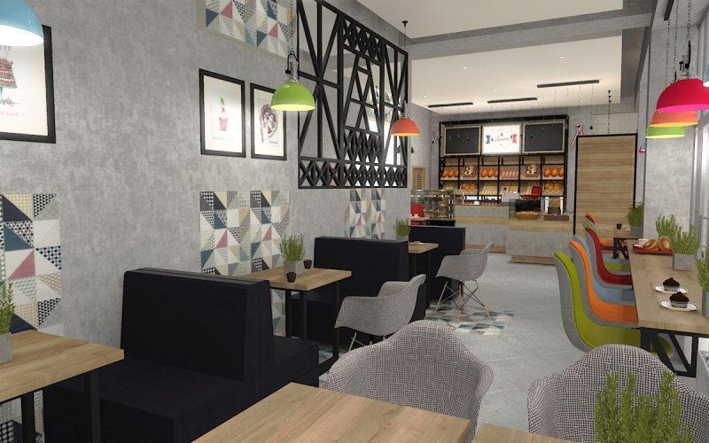 projektant-wnętrz-Lublin-wnętrza komercyjne-La-Lumiere-piekarnia-francuska-Wieża-Eiflla-10