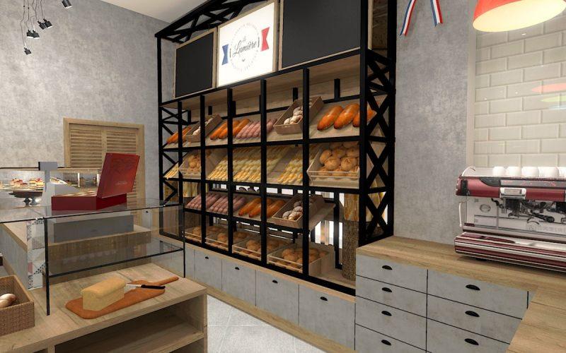 projektant-wnętrz-Lublin-wnętrza komercyjne-La-Lumiere-piekarnia-francuska-Wieża-Eiflla-13