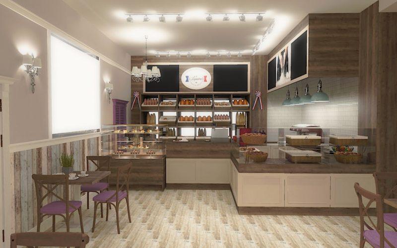 projektant-wnętrz-Lublin-wnętrza komercyjne-La-Lumiere-piekarnia-francuska-Wzgórza-prowansalskie-10