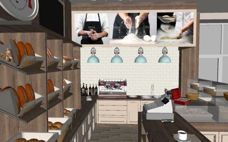 projektant-wnętrz-Lublin-wnętrza komercyjne-La-Lumiere-piekarnia-francuska-Wzgórza-prowansalskie-14