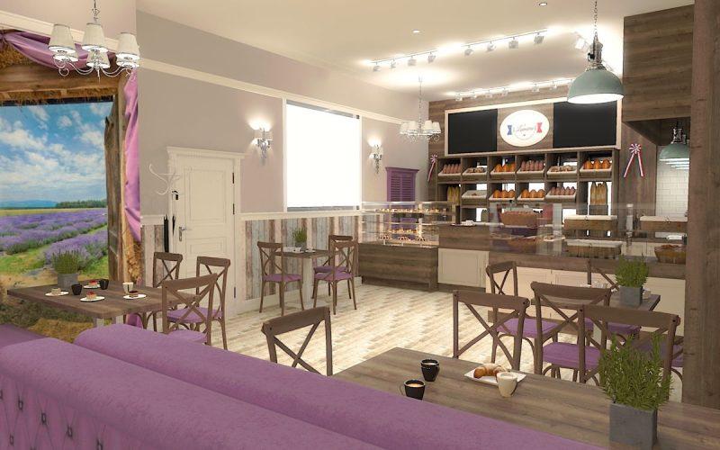 projektant-wnętrz-Lublin-wnętrza komercyjne-La-Lumiere-piekarnia-francuska-Wzgórza-prowansalskie-4