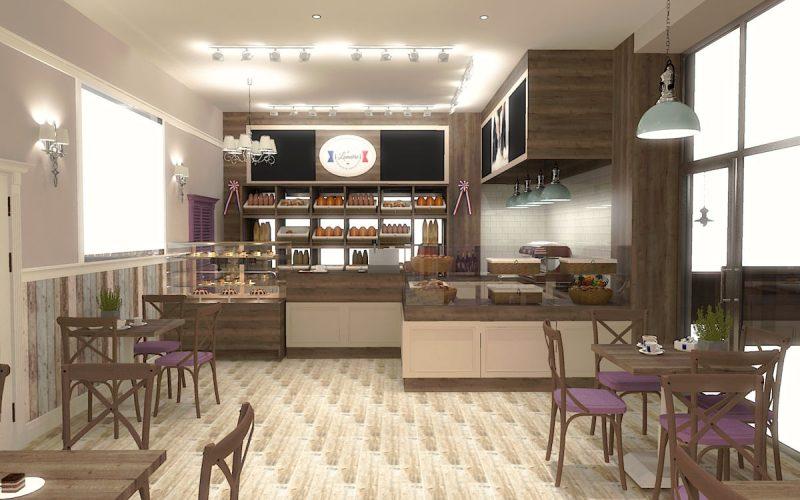projektant-wnętrz-Lublin-wnętrza komercyjne-La-Lumiere-piekarnia-francuska-Wzgórza-prowansalskie-5