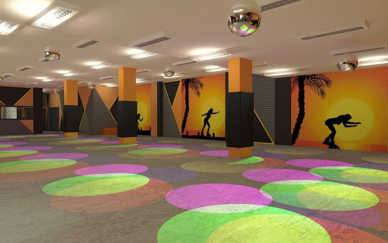 projektant-wnętrz-Lublin-wnętrza komercyjne-Wrotkomania-skate-park-Oryginalna-2